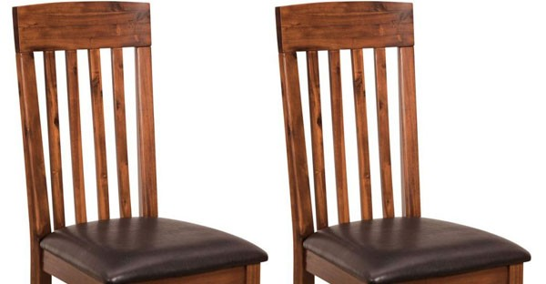 CFS Dark Wood Dining Room Furniture: Tables & Chairs