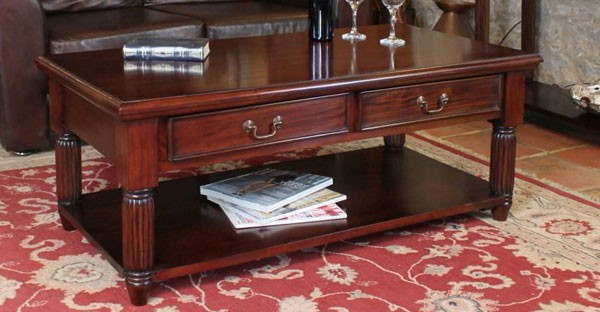 mahogany living room furniture tables tv units racks