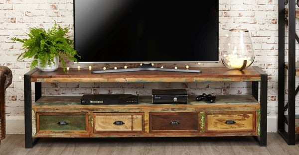 Industrial Living Room Furniture: Tables, Bookcase, TV Units