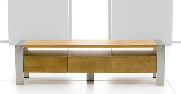 Oak TV Unit