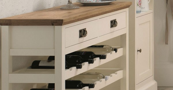 Painted Wine Racks