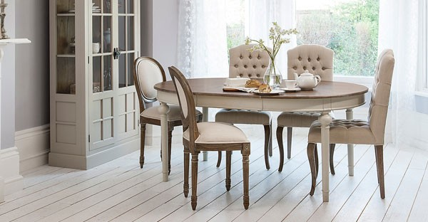 French Dining Room Furniture: Table & Chairs for Sale