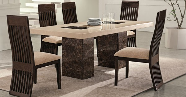 Delightful Marble Dining Room Furniture