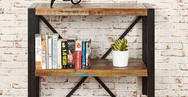 Reclaimed Wood Bookcases Part 83