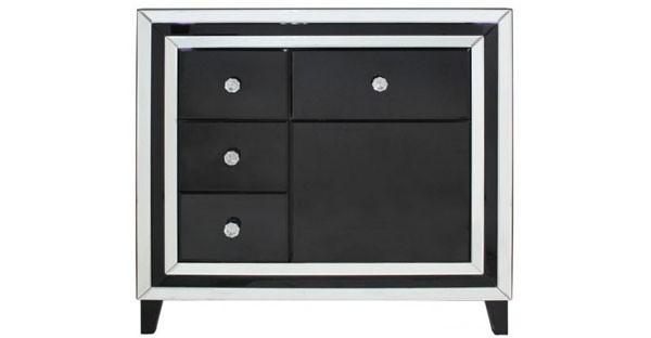 Black Hall Cabinets