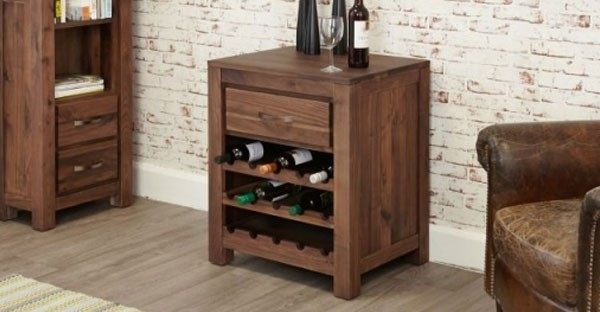 Walnut Wine Racks