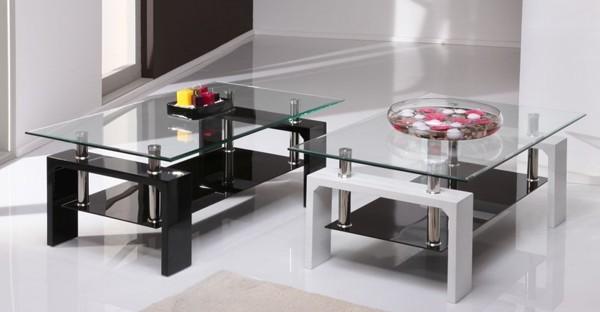 Glass Living Room Furniture