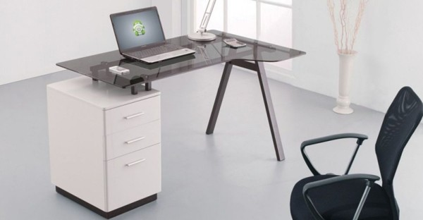Glass Home Office Furniture