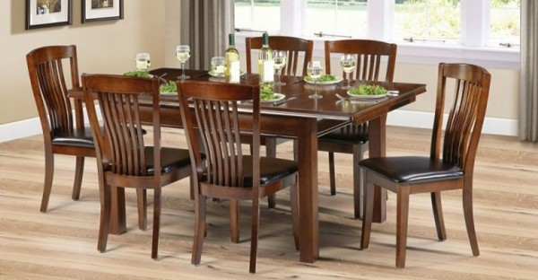 Mahogany Dining Room Furniture Cabinets Table Chairs