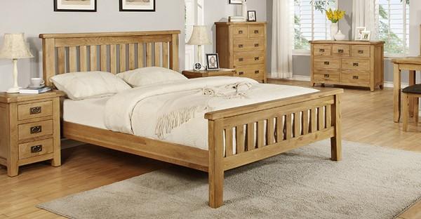 Bedroom Sets For Sale Bedroom Packages In Oak Pine Walnut