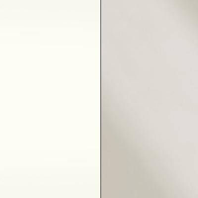 Alpine White with Magnolia Faux Leather 730