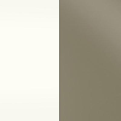 Alpine White with Sahara Faux Leather 730