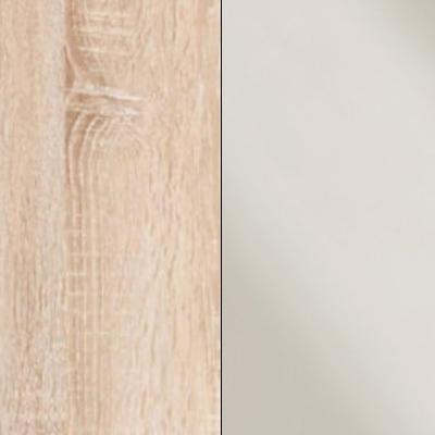 Rustic Oak with Magnolia Faux Leather 733