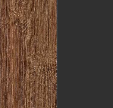 Stirling Oak Carcase and Front with Metallic Grey Application A5778
