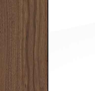 Royal Walnut Carcase and High Polish White Front A2C39