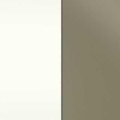 Alpine White with Sahara Faux Leather Headboard Cushion 961