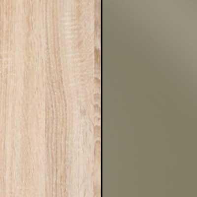 Rustic Oak with Sahara Faux Leather Headboard Cushion 963