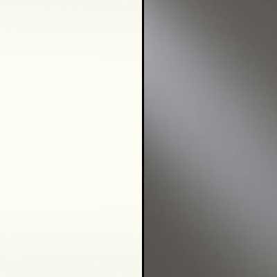 Alpine White with Havana Faux Leather Leather Headboard Cushion 665