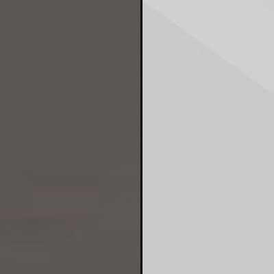 Havana with Pebble Grey Faux Leather Leather Headboard Cushion 667