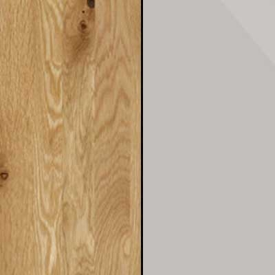 Semi Solid Oak Carcase with Champagne Glass Front 203