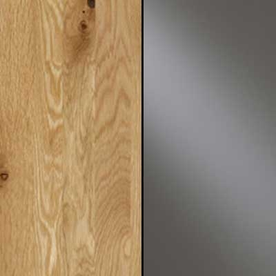 Semi Solid Oak Carcase with Havana Glass Front 203