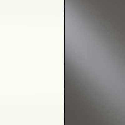 Alpine White with Havana Faux Leather Headboard Cushion 632