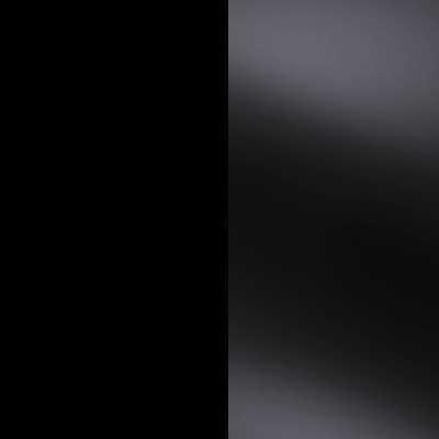 Black with Black Faux Leather Headboard Cushion 633