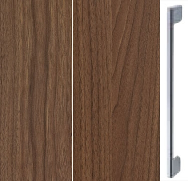 Royal Walnut Carcase and Front with Chrome Color Handle A600N