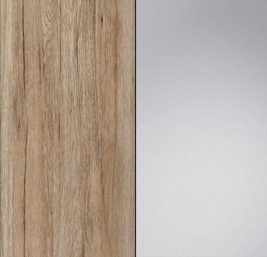 Sanremo Oak Light Carcase with Mirror Front A088K