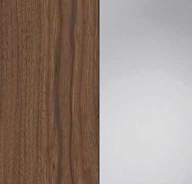 Royal Walnut Carcase with Mirror Front A5816