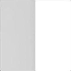 Grey Matt Front with White Base Unit