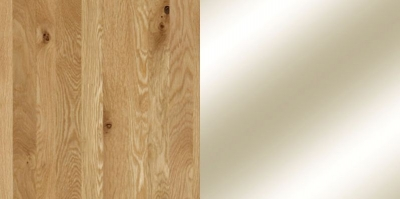 Semi Solid Oak Carcase with Parsol Bronze Mirror Front 815