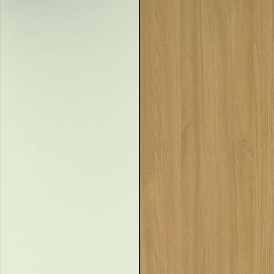 Vanilla Front and Modern Oak Base Unit