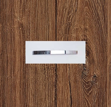 Stirling Oak Carcase and Front with Chrome Color Handle No1 A670D