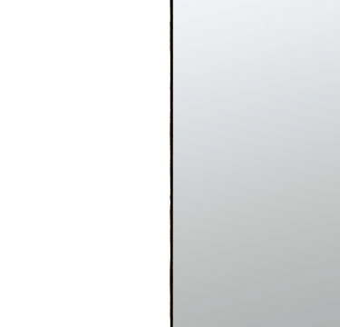 Alpine White Carcase and Front with Center Door Mirror AP940