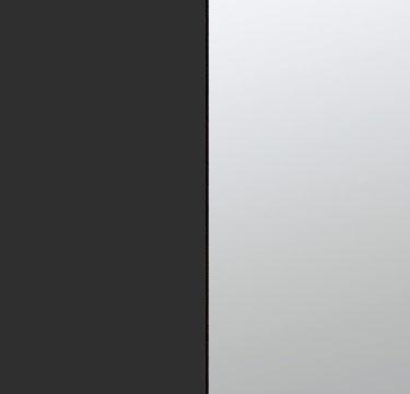 Metallic Grey Carcase and Front with Center Door Mirror AP830