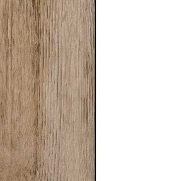 Sanremo Oak Light Carcase and Front with Alpine White Application Color A4AD7