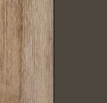 Sanremo Oak Light Carcase and Front with Lava Grey Application Color A4M37