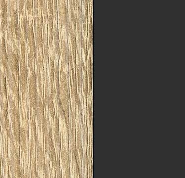 Sonoma Oak Carcase and Front with Metallic Grey Application Color A6L39