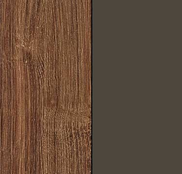 Stirling Oak Carcase and Front with Lava Grey Application Color A5AB7