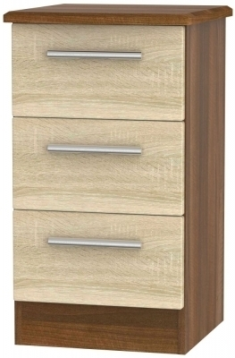 Bardolino Front and Noche Walnut Base Unit