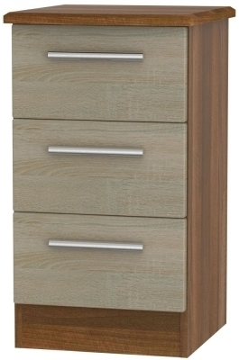 Darkolino Front and Noche Walnut Base Unit