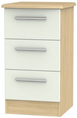 Kaschmir Matt Front and Light Oak Base Unit