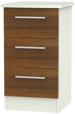 Noche Walnut Front and Kaschmir Base Unit