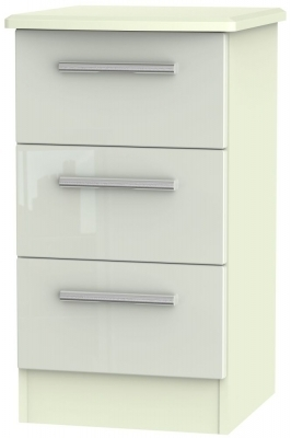 Kaschmir High Gloss Front and Cream Matt Base Unit