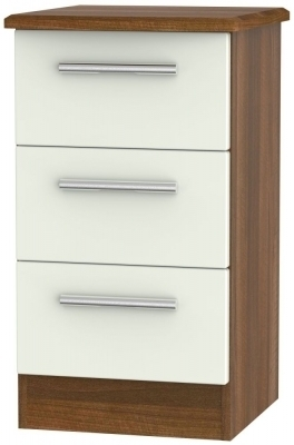 Kaschmir Matt Front and Noche Walnut Base Unit