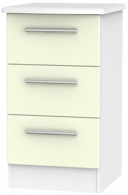Cream Front and White Base Unit
