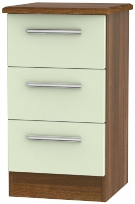 Mussel Front and Noche Walnut Base Unit
