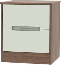 Kaschmir Front and Carini Walnut Base Unit
