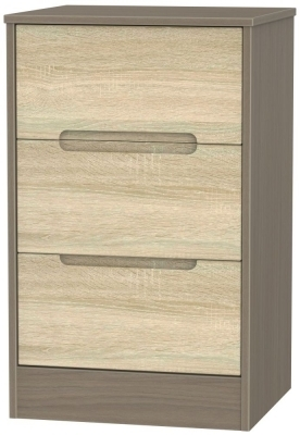 Bardolino Front and Toronto Walnut Base Unit
